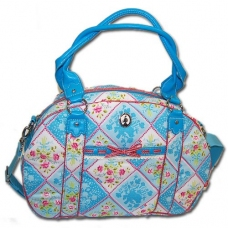 Bolso Bunch and Roses Azul